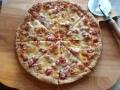pizza recipe whole wheat flax seed crust