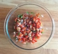 photo of bowl full of salsa fresca