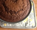 homemade chocolate cake from scratch